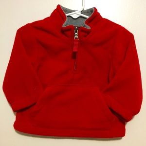 PLACE Baby Boy Red Pullover